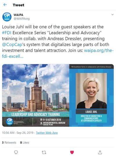 WAIPA Louise J speaker sept 2019